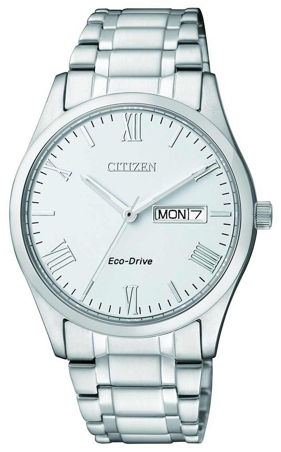 Citizen Eco Drive 180 Herrklocka BM8506-83A Vit/Stål Ø41 mm - Citizen