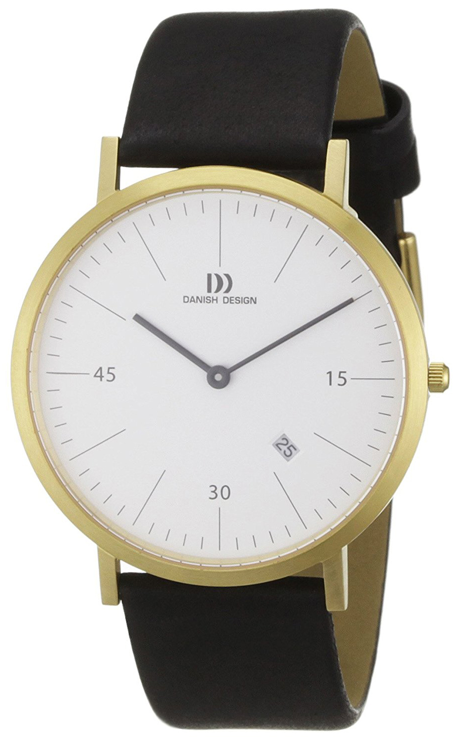 Danish Design Classic Herrklocka 3310077 Vit/Läder Ø40 mm - Danish Design