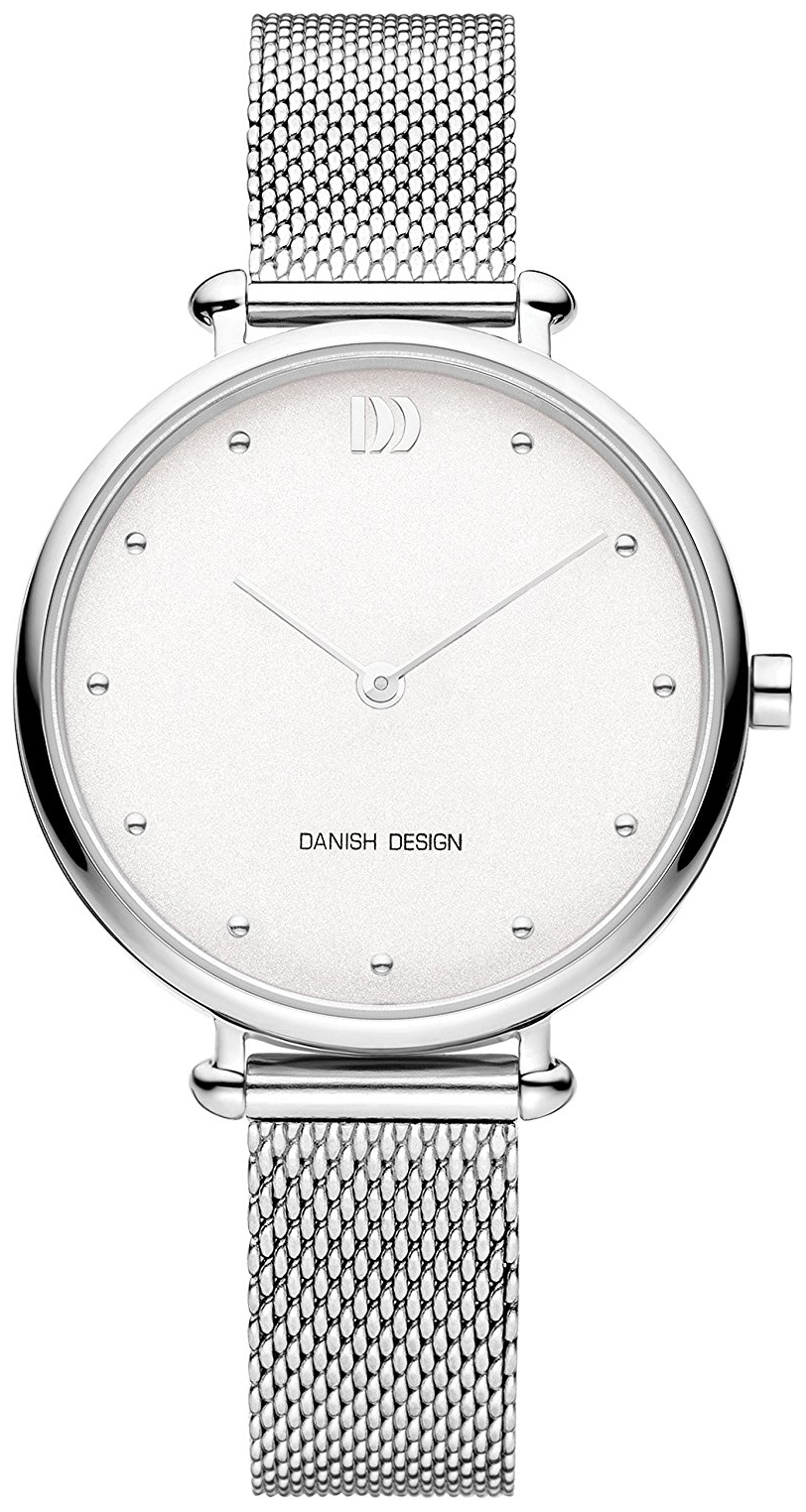 Danish Design Dress Damklocka IV62Q1229 Silverfärgad/Stål Ø33 mm - Danish Design