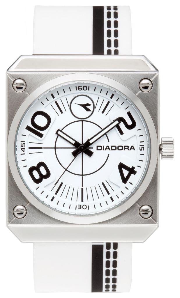 Diadora Drive Herrklocka DI-011-03 Vit/Gummi - Diadora