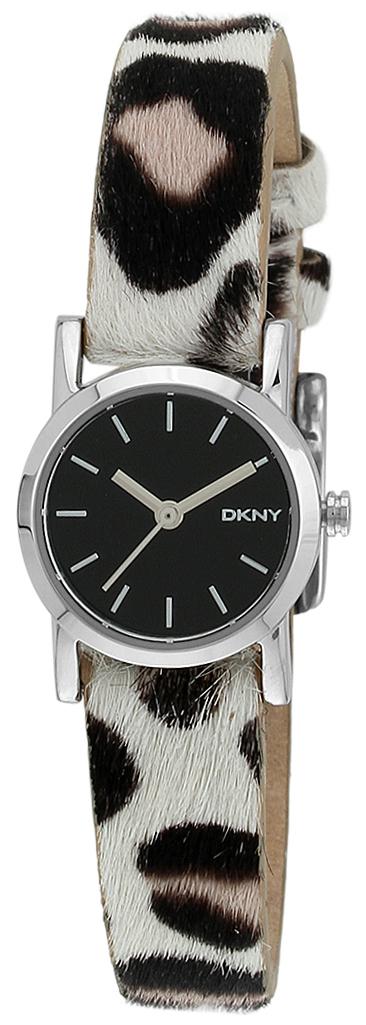 DKNY 99999 Damklocka NY2190 Svart/Läder Ø20 mm - DKNY