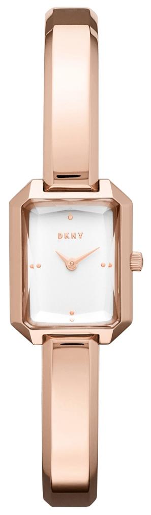 DKNY Damklocka NY2649 Silverfärgad/Roséguldstonat stål - DKNY