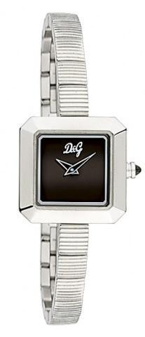 Dolce & Gabbana D&G Lyric Damklocka DW0293 Svart/Stål 22x22 mm - Dolce & Gabbana D&G