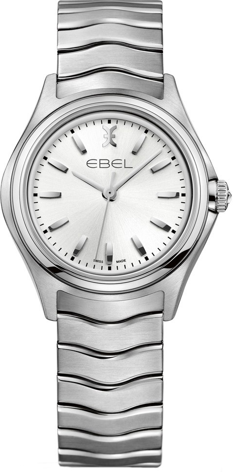 Ebel Wave Damklocka 1216191 Silverfärgad/Stål Ø30 mm - Ebel