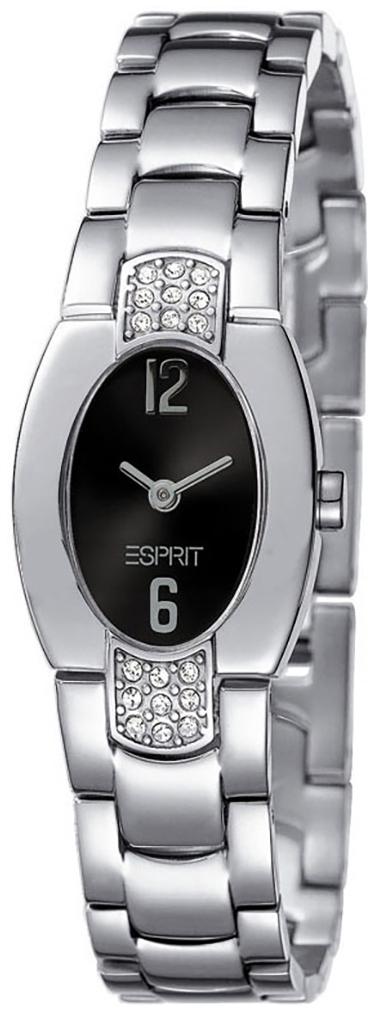 Esprit Dress Damklocka ES102262002 Svart/Stål - Esprit