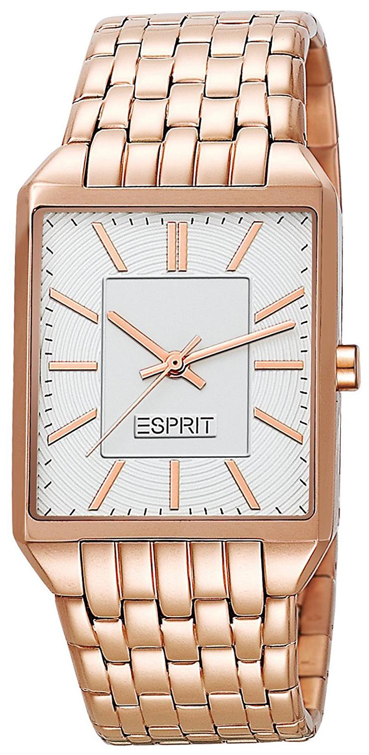 Esprit Dress Damklocka ES104652007 Vit/Roséguldstonat stål - Esprit