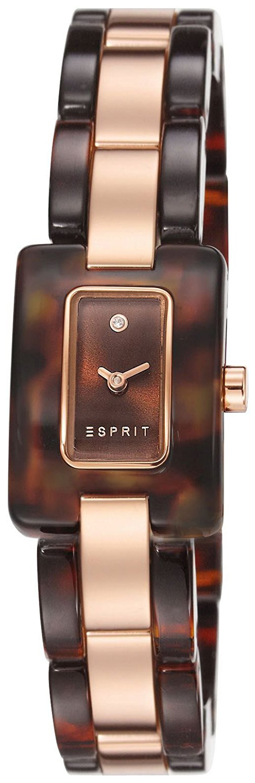 Esprit Dress Damklocka ES106492004 Brun/Roséguldstonat stål - Esprit
