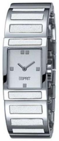 Esprit Dress Damklocka ES900092001 Vit/Stål - Esprit