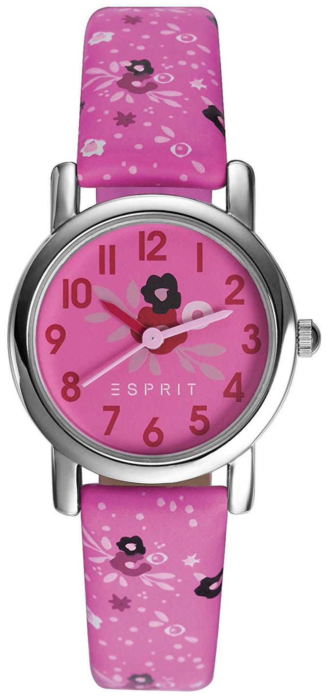 Esprit Dress Damklocka ES906524005 Rosa/Läder Ø30 mm - Esprit