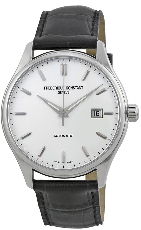 Frederique Constant Classics Herrklocka FC-303S5B6 Silverfärgad/Läder - Frederique Constant