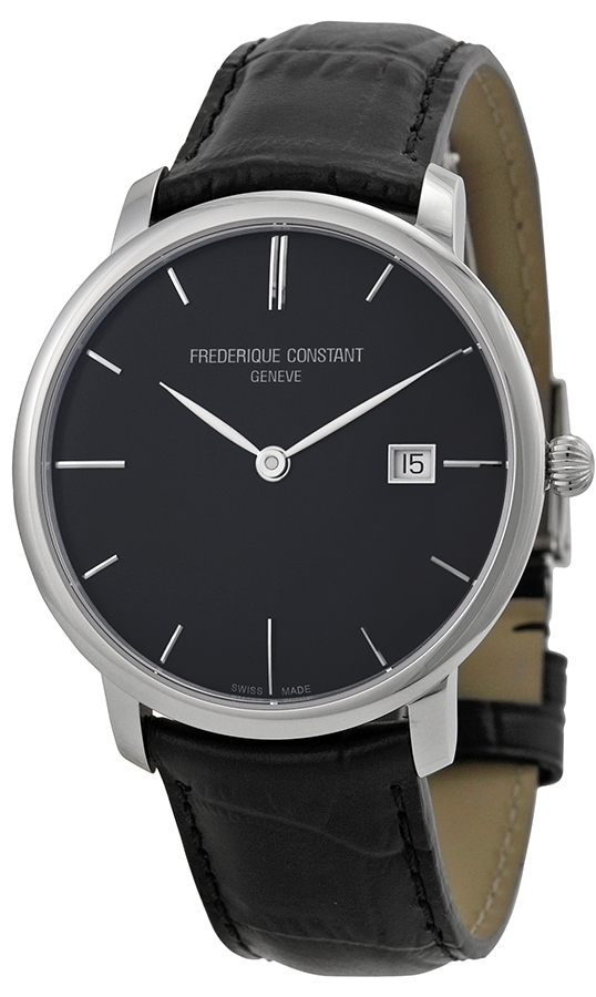 Frederique Constant Classics Herrklocka FC-306G4S6 Svart/Läder Ø40 mm - Frederique Constant