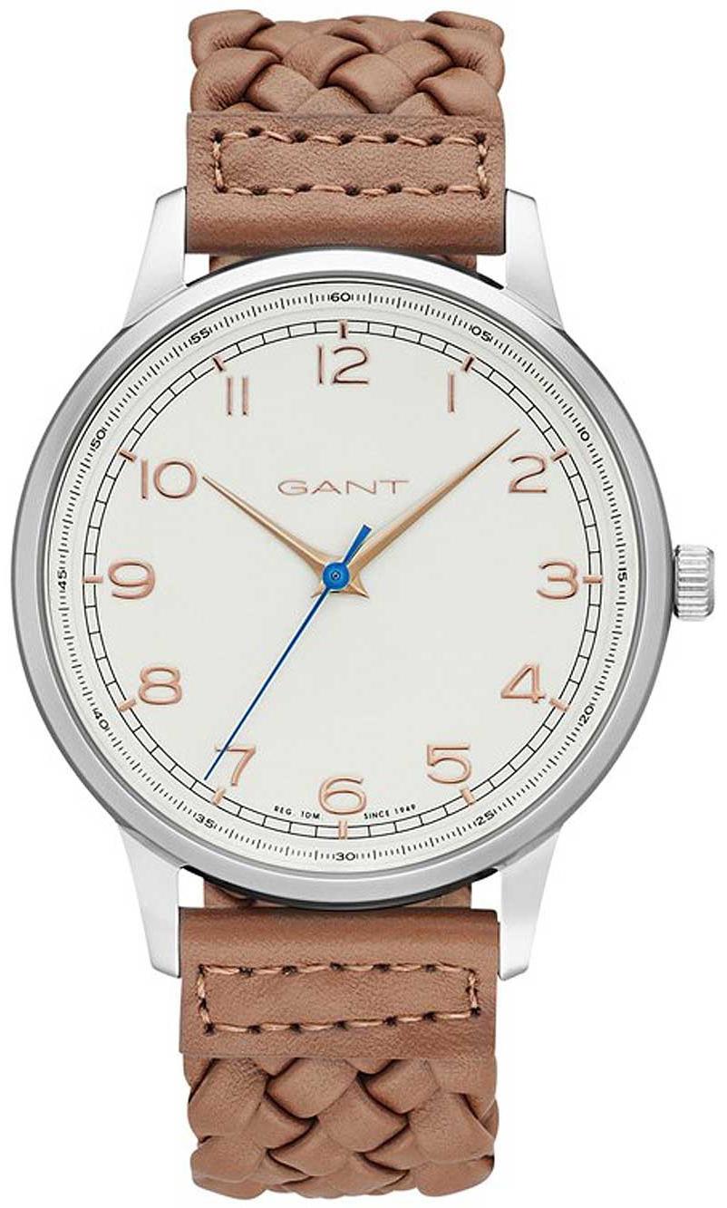 Gant Tremonth Herrklocka GT025004 Vit/Läder Ø42 mm - Gant