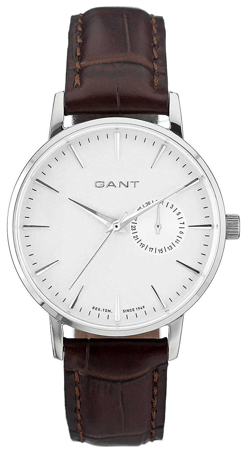 Gant Park Hill II Damklocka W10921 Vit/Läder Ø38 mm - Gant