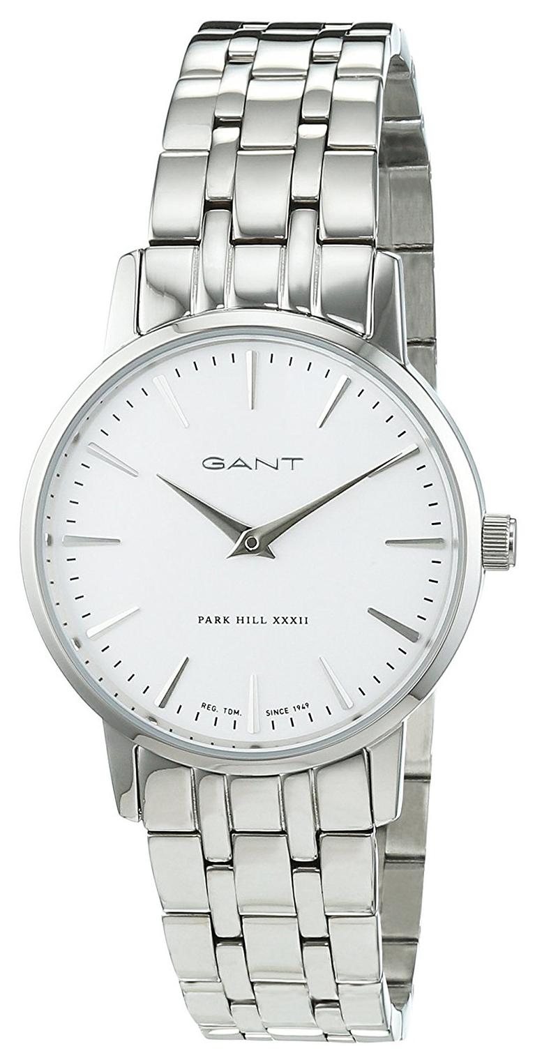 Gant Park Hill Damklocka W11403 Vit/Stål Ø32 mm - Gant