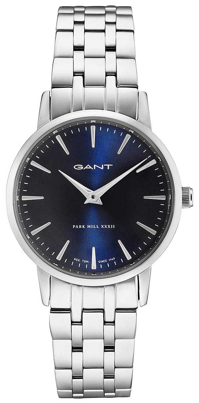 Gant Park Hill Damklocka W11407 Blå/Stål Ø32 mm - Gant