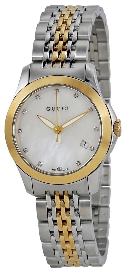 Gucci G-Timeless Damklocka YA126513 Silverfärgad/Stål Ø27 mm - Gucci