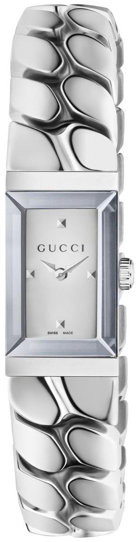 Gucci G- Frame Damklocka YA147501 Vit/Stål - Gucci