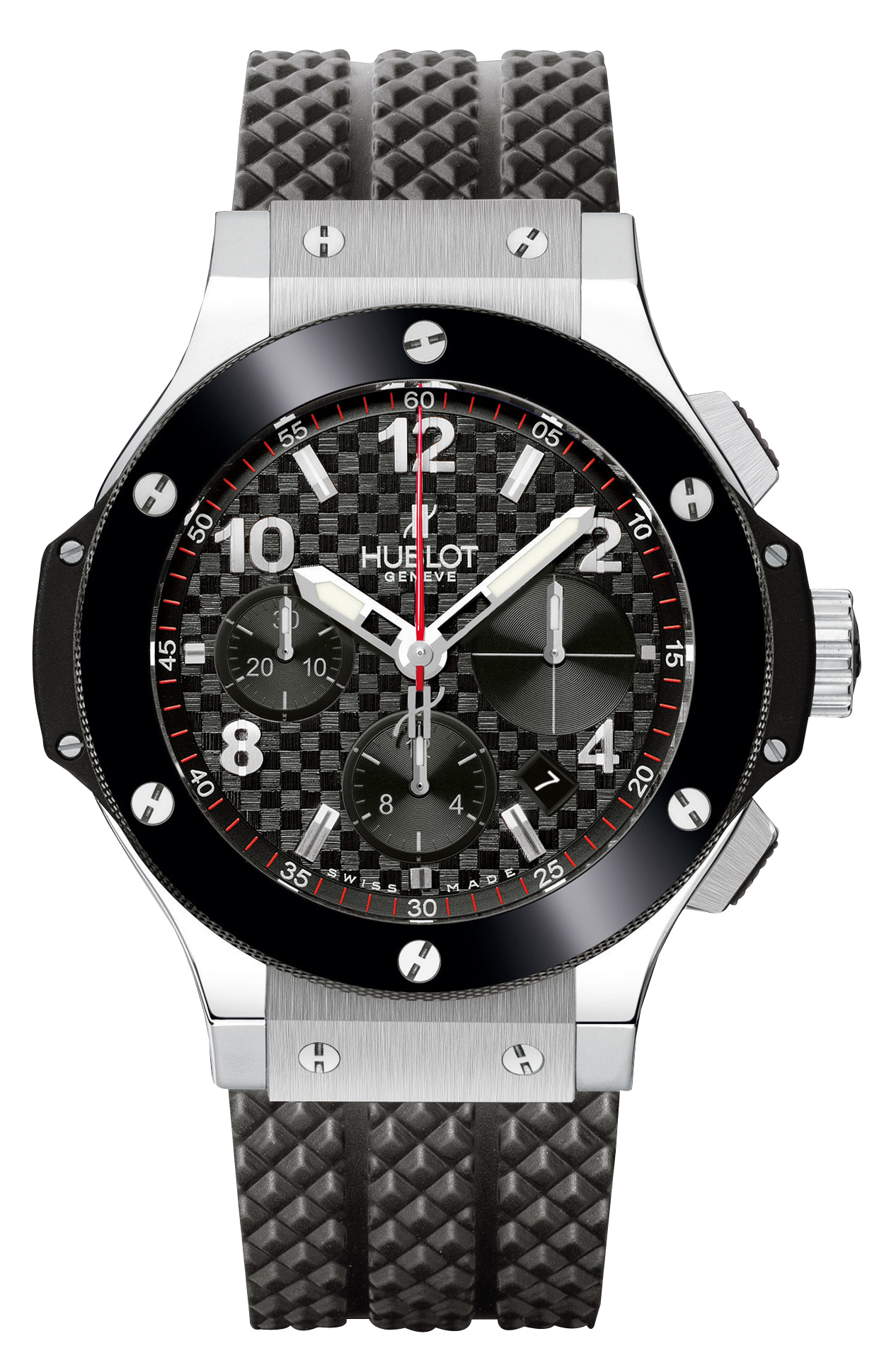 Hublot Big Bang 41 mm Herrklocka 342.SB.131.RX Svart/Gummi Ø41 mm - Hublot