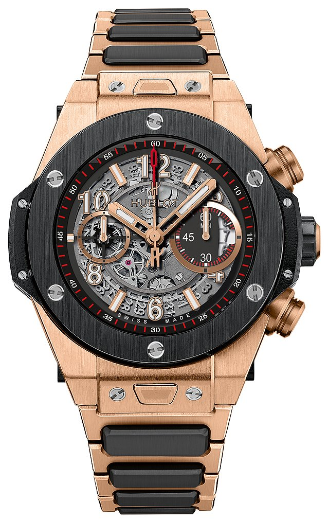 Hublot Big Bang 45mm Herrklocka 411.OM.1180.OM Skelettskuren/18 karat - Hublot