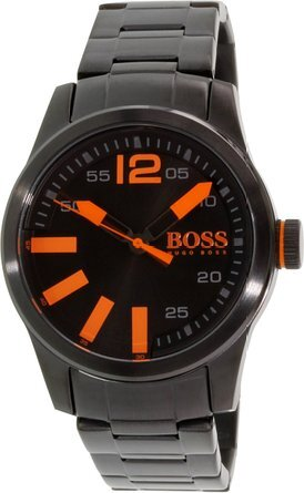 Hugo Boss Paris Herrklocka 1513051 Svart/Stål Ø44 mm - Hugo Boss