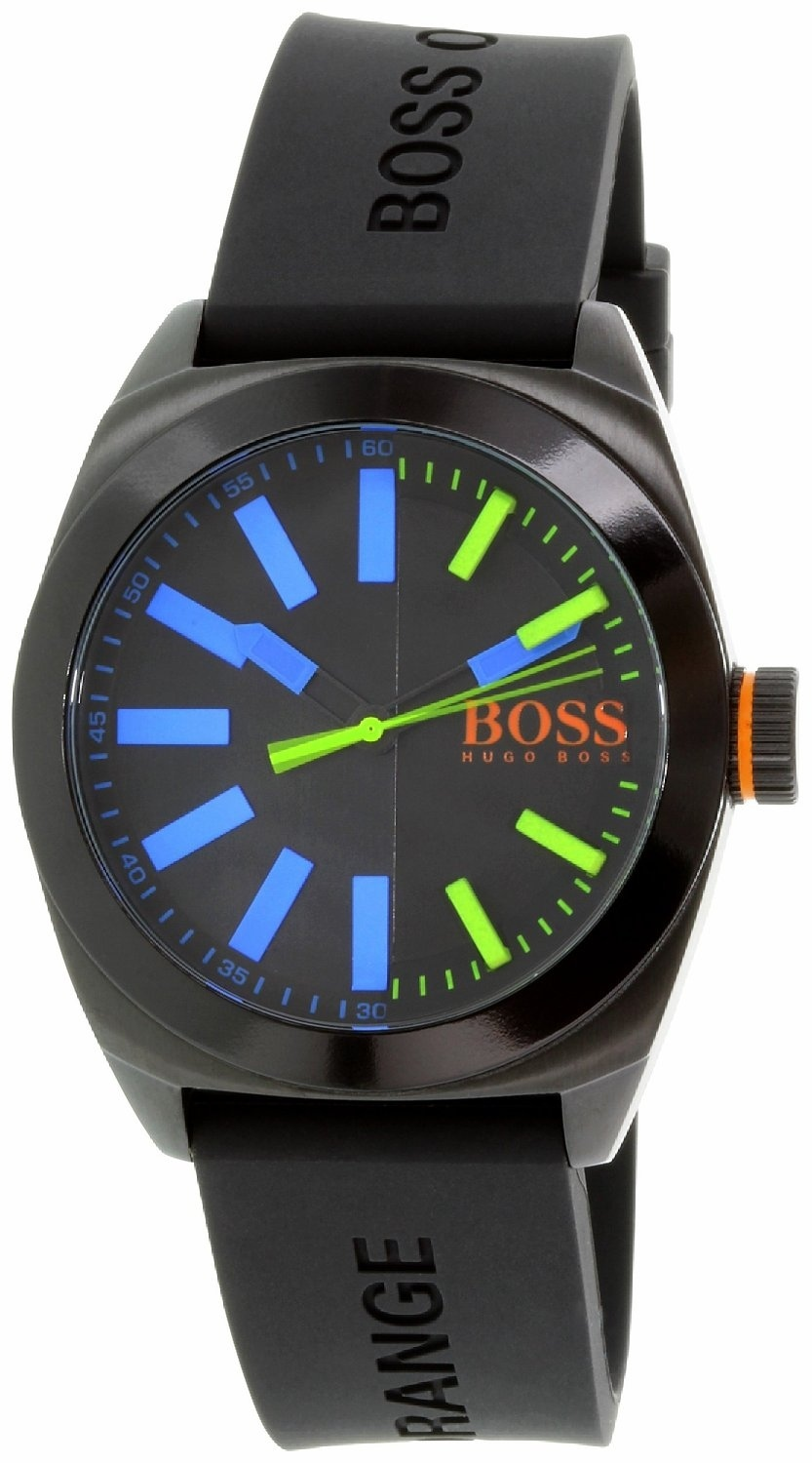 Hugo Boss 99999 Herrklocka 1513053 Svart/Gummi Ø45 mm - Hugo Boss