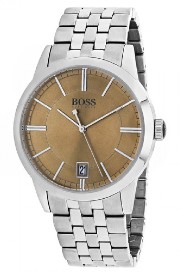 Hugo Boss Success Herrklocka 1513134 Brun/Stål Ø42 mm - Hugo Boss