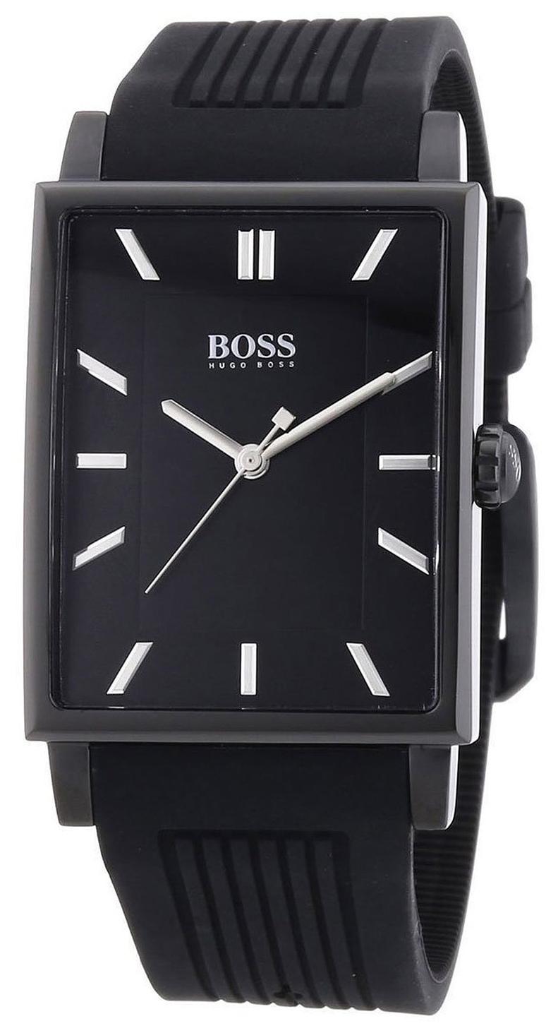 Hugo Boss Modern Herrklocka 1513225 Svart/Gummi - Hugo Boss