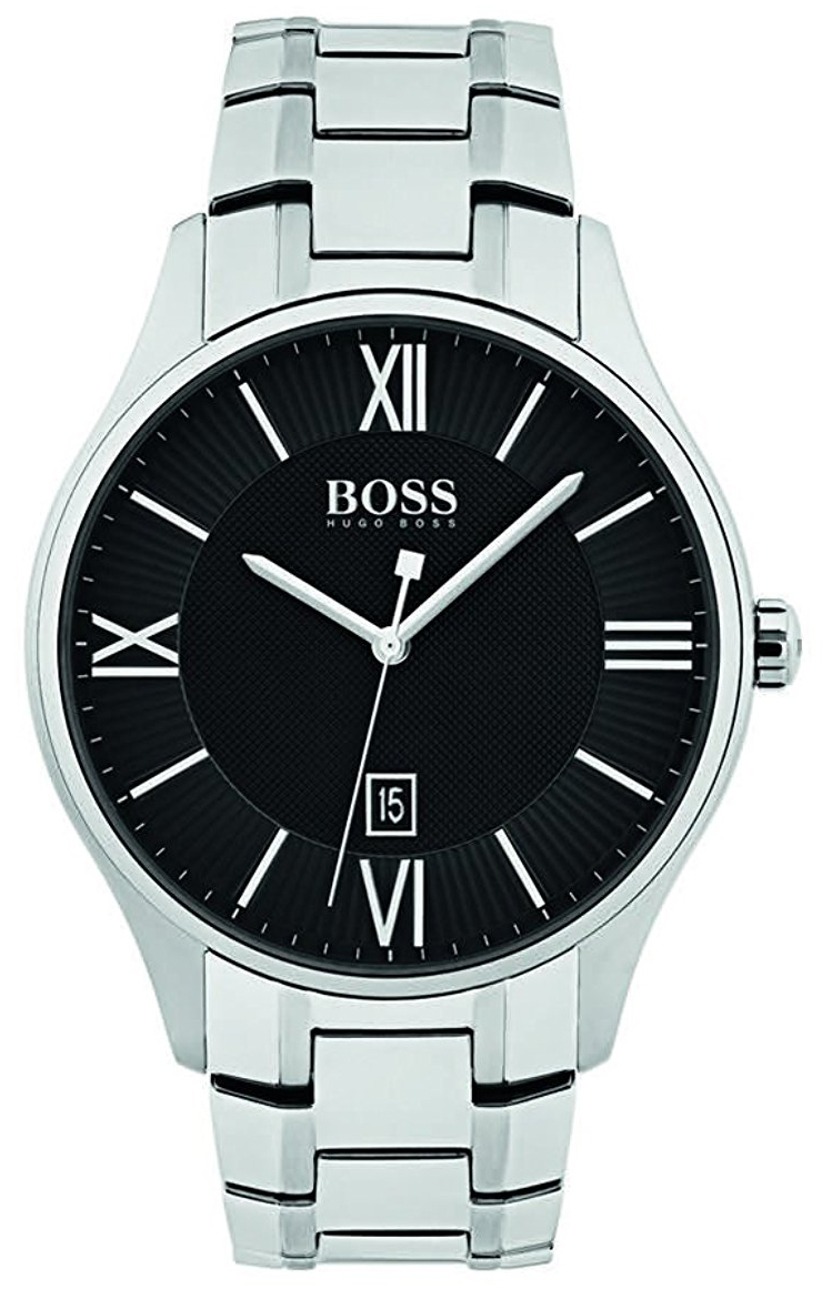 Hugo Boss 99999 Herrklocka 1513488 Svart/Stål Ø43 mm - Hugo Boss