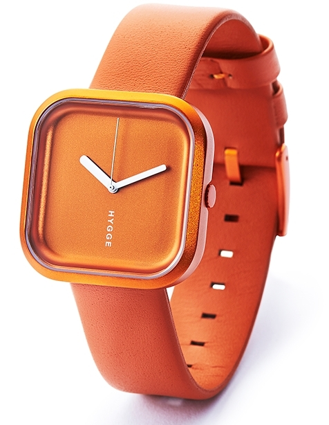 Hygge Väri Sunset Orange HGE020074 Orange/Läder Ø33 mm - Hygge