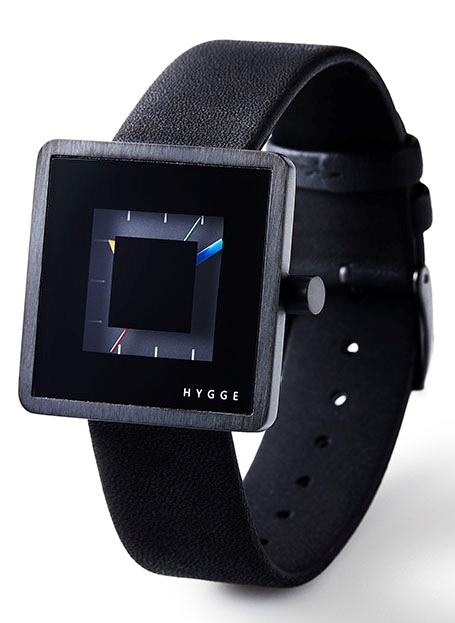 Hygge 2089 All Black HGE020081 Svart/Läder Ø32 mm - Hygge
