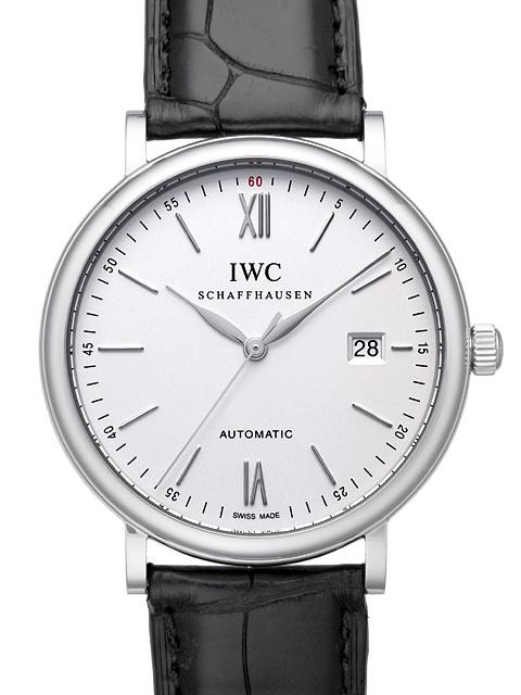IWC Portofino Herrklocka IW356501 Silverfärgad/Läder Ø40 mm - IWC