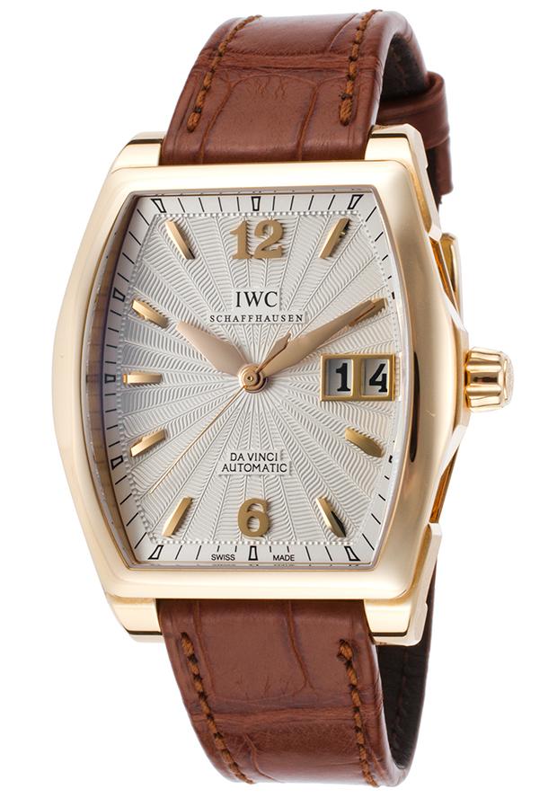 IWC Da Vinci Herrklocka IW452311 Silverfärgad/Läder 42.5x35.6 mm - IWC