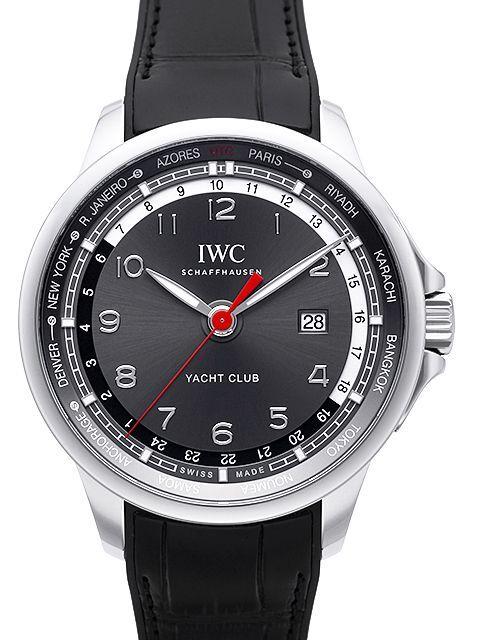IWC Portuguese Herrklocka IW326602 Grå/Gummi Ø45.4 mm - IWC