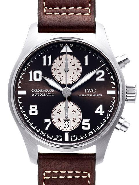 IWC Chronograph Herrklocka IW387806 Antoine de Saint Exupery Brun/Läder - IWC