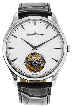 Jaeger LeCoultre Master Ultra Thin Tourbillon White Gold Herrklocka - Jaeger LeCoultre