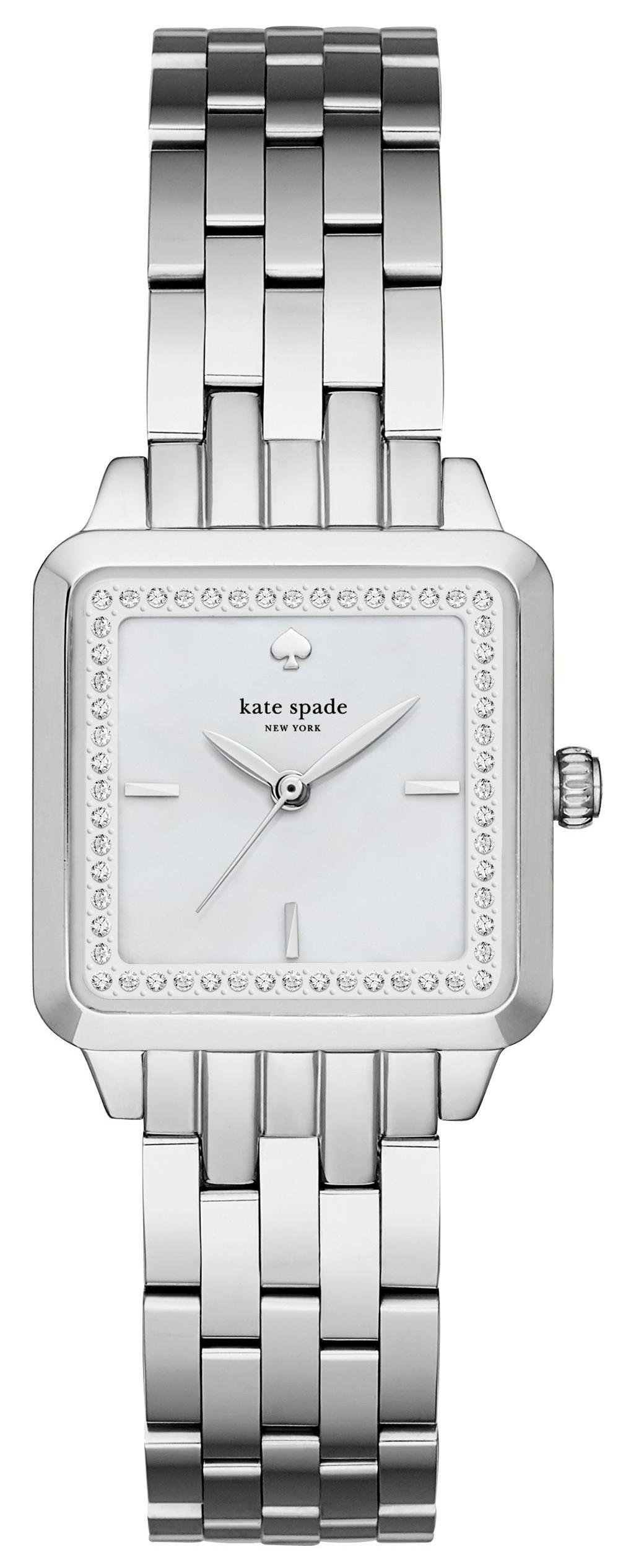 Kate Spade 99999 Damklocka KSW1114 Vit/Stål - Kate Spade