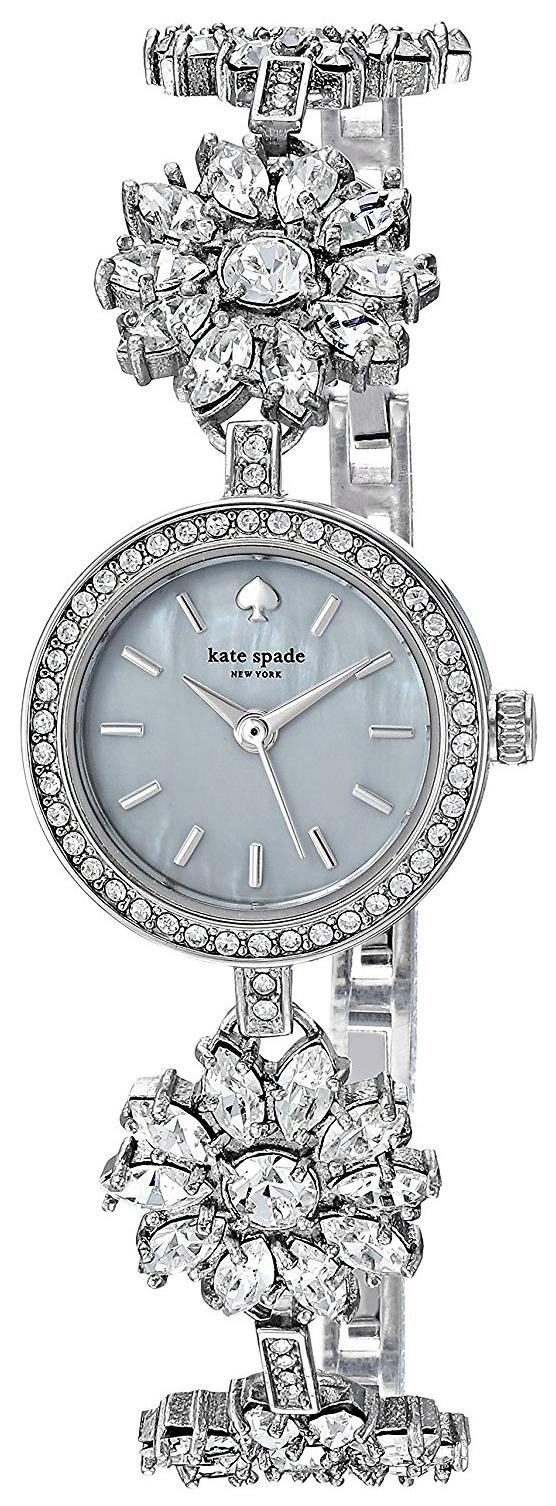 Kate Spade 99999 Damklocka KSW1315 Vit/Stål Ø20.5 mm - Kate Spade