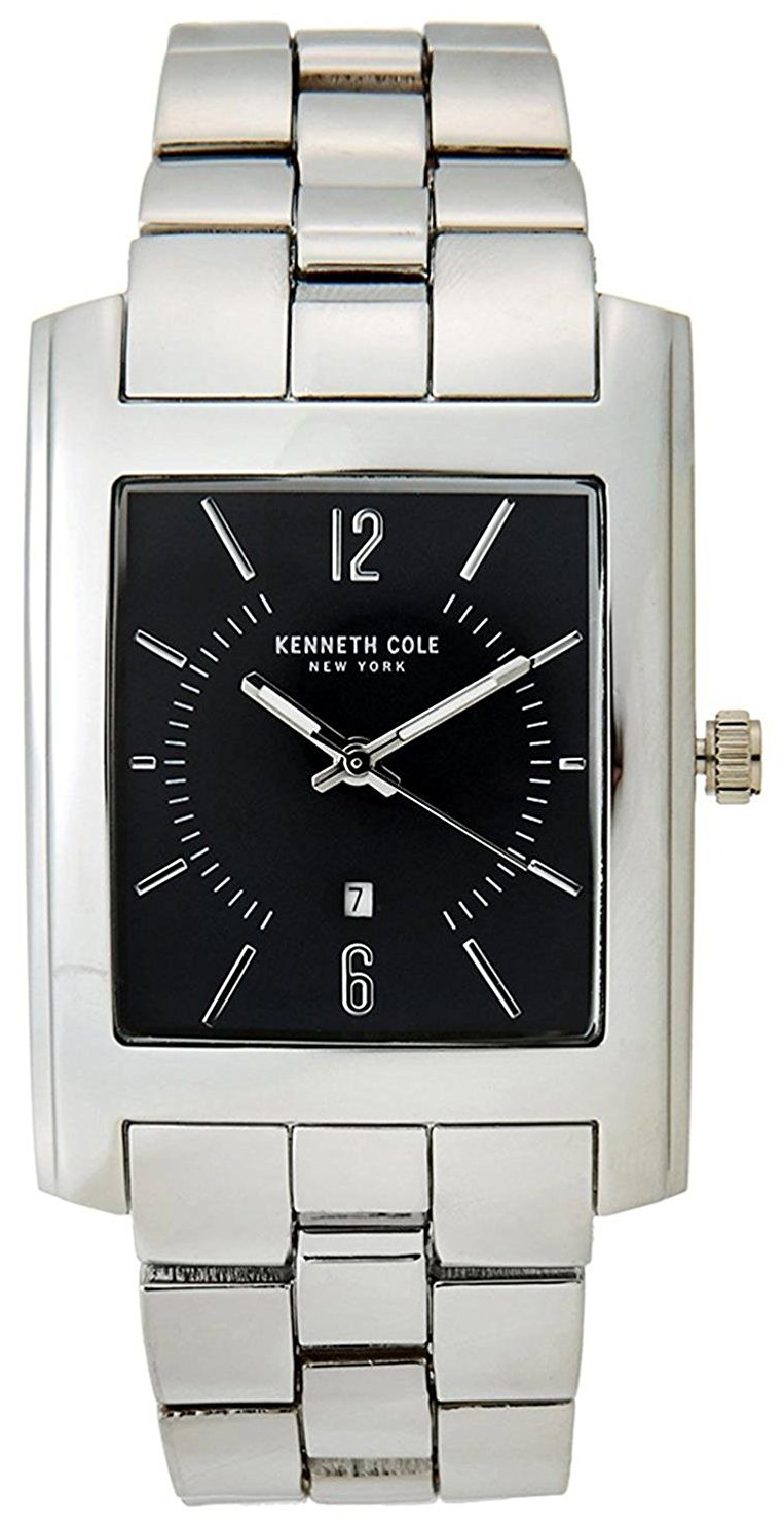 Kenneth Cole 99999 Herrklocka 10031326 Svart/Stål - Kenneth Cole