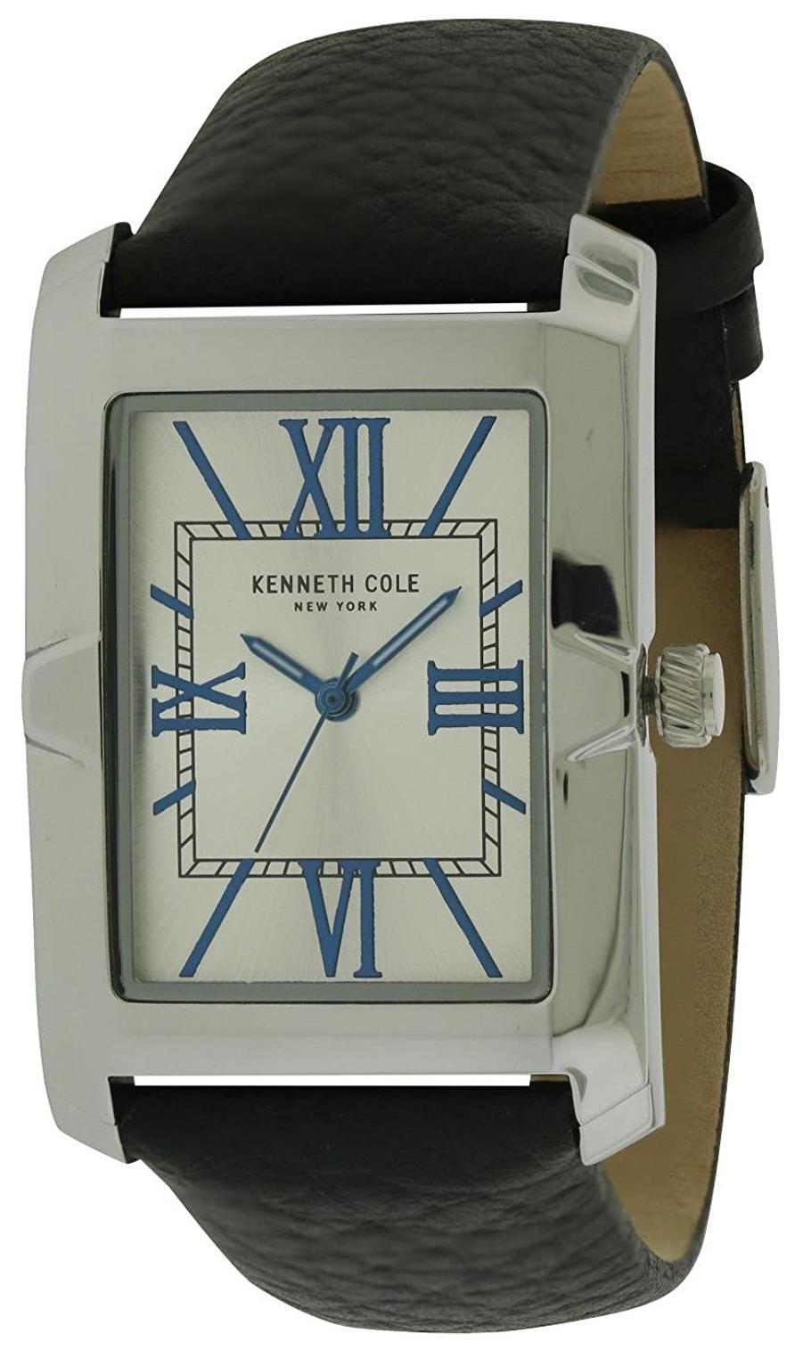 Kenneth Cole Herrklocka 10031341 Silverfärgad/Läder - Kenneth Cole