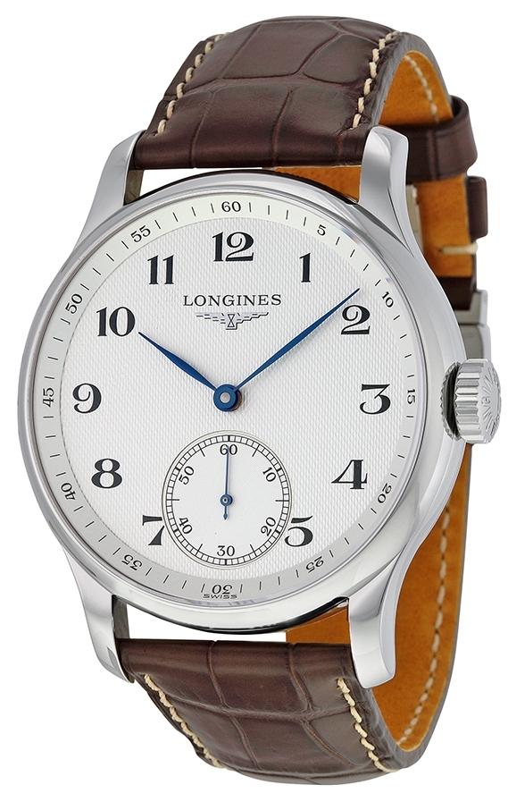 Longines Master Herrklocka L2.640.4.78.3 Silverfärgad/Läder Ø47.5 mm - Longines