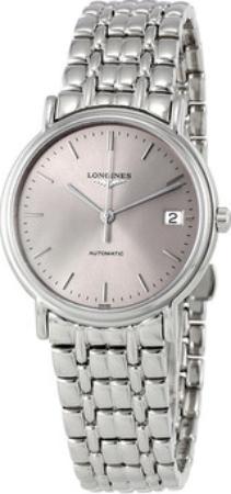 Longines Grande Classique Damklocka L4.821.4.72.6 Silverfärgad/Stål - Longines