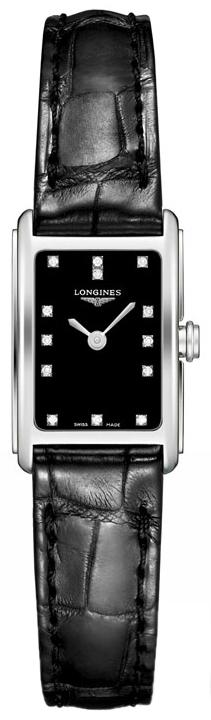 Longines DolceVita Damklocka L5.258.4.57.0 Svart/Läder - Longines