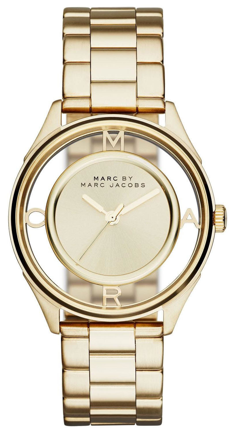 Marc by Marc Jacobs Dress Damklocka MBM3413 Gulguldstonad/Gulguldtonat - Marc by Marc Jacobs