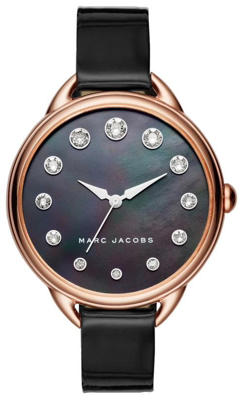 Marc by Marc Jacobs Dress Damklocka MJ1511 Svart/Läder Ø36 mm - Marc by Marc Jacobs