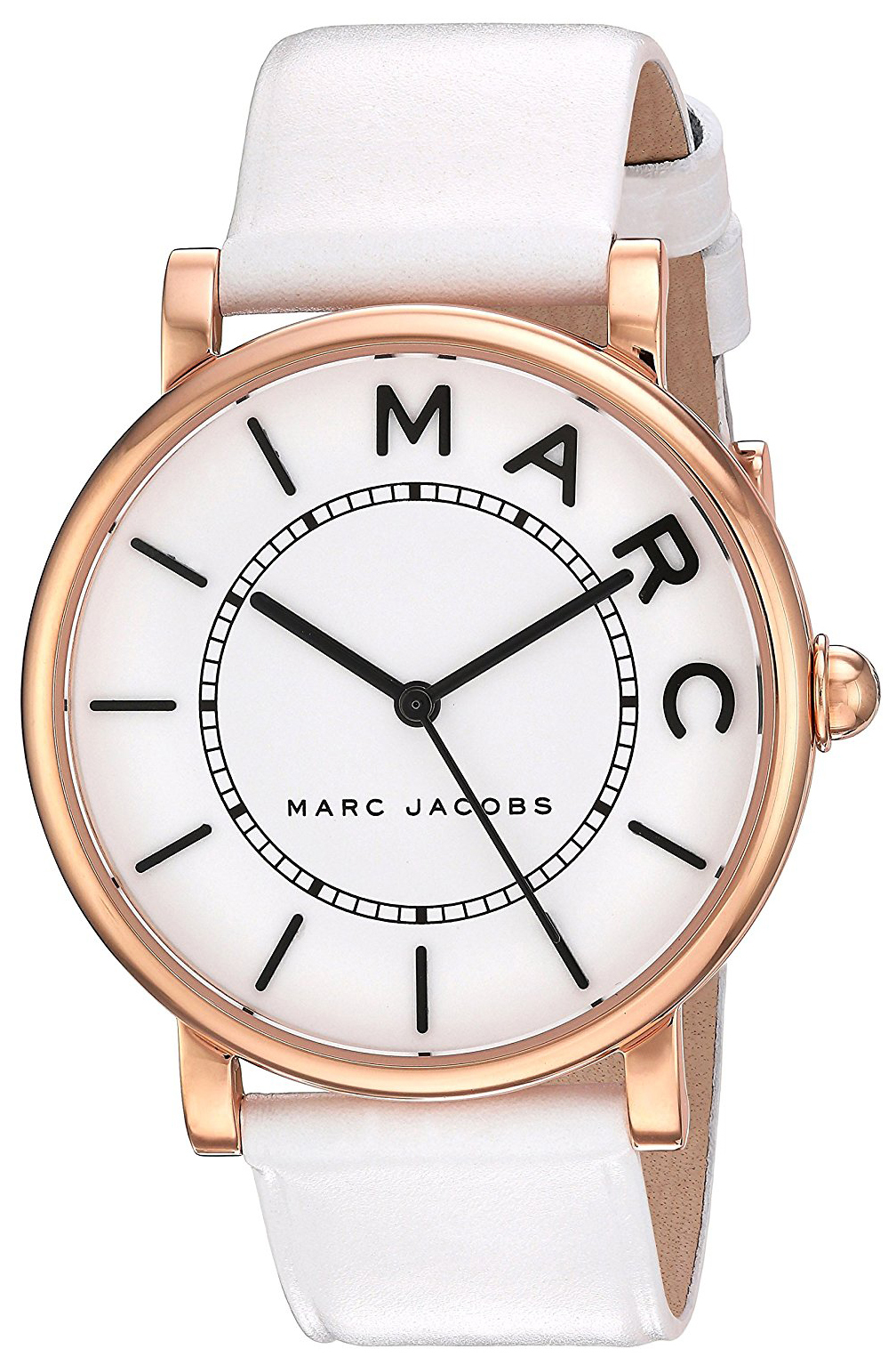 Marc by Marc Jacobs 99999 Damklocka MJ1561 Vit/Läder Ø36 mm - Marc by Marc Jacobs