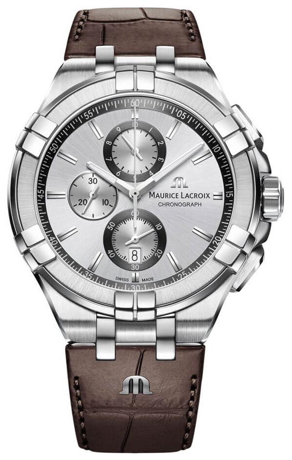 Maurice Lacroix Aikon Quartz Chronograph Herrklocka AI1018-SS001-130-1 - Maurice Lacroix