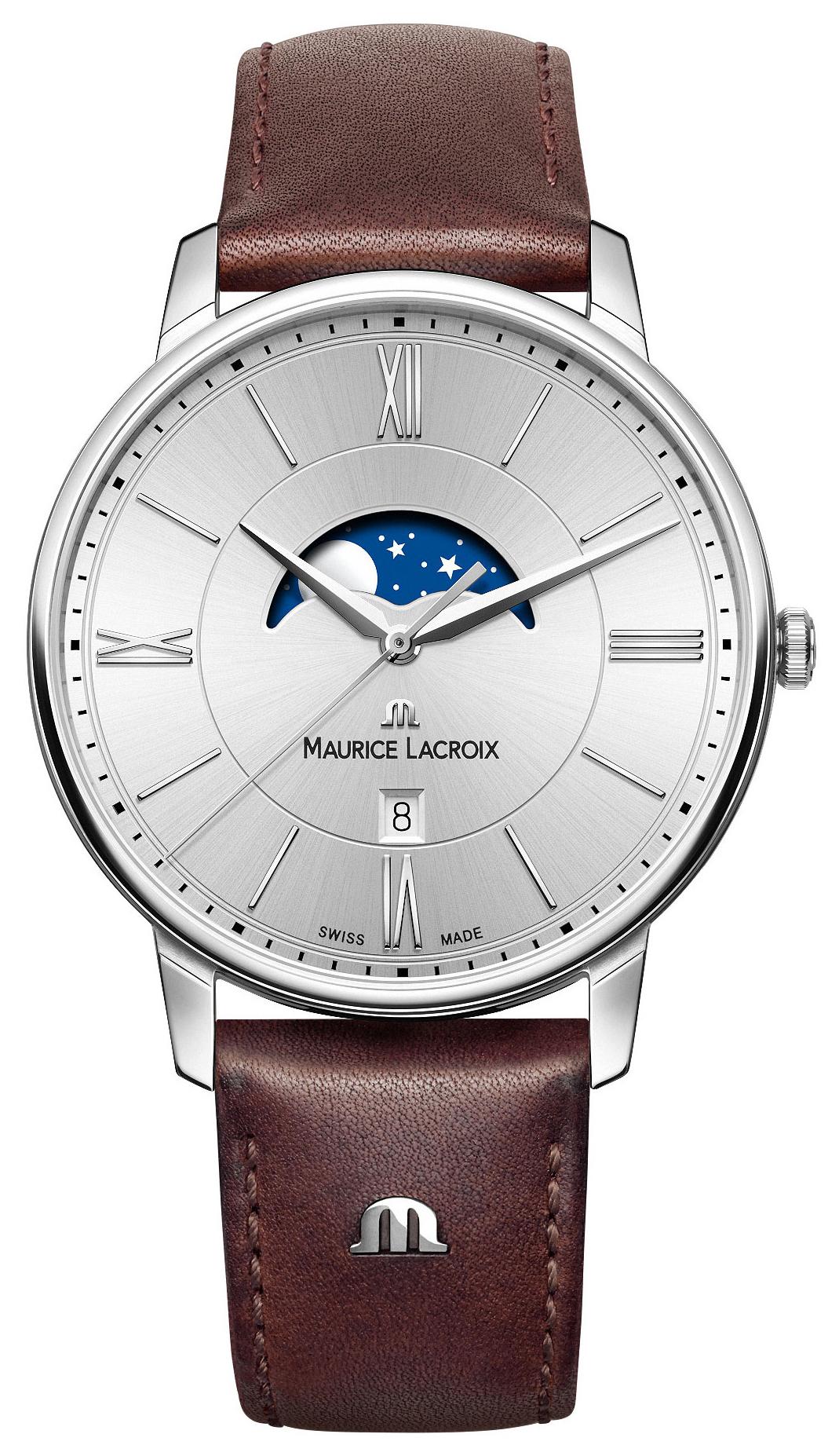 Maurice Lacroix Eliros Moonphase Herrklocka EL1108-SS001-110-1 - Maurice Lacroix