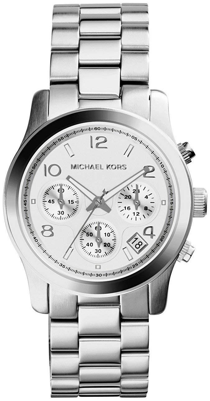 Michael Kors Runway Damklocka MK5076 Silverfärgad/Stål Ø38 mm - Michael Kors