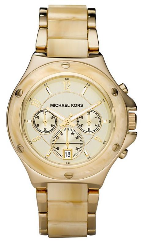 Michael Kors Damklocka MK5449 Champagnefärgad/Gulguldtonat stål Ø42 mm - Michael Kors
