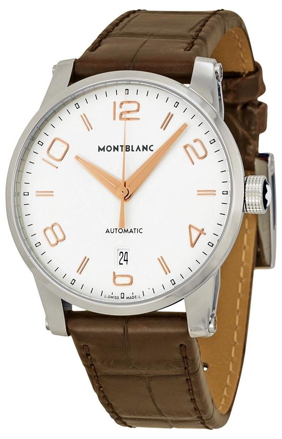 Montblanc Timewalker Herrklocka 110340 Champagnefärgad/Läder Ø39 mm - Montblanc